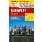 Stadtplan Budapest 1:15 000 / Marco Polo City Map